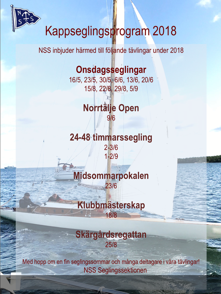 Program kölbåtar 2018